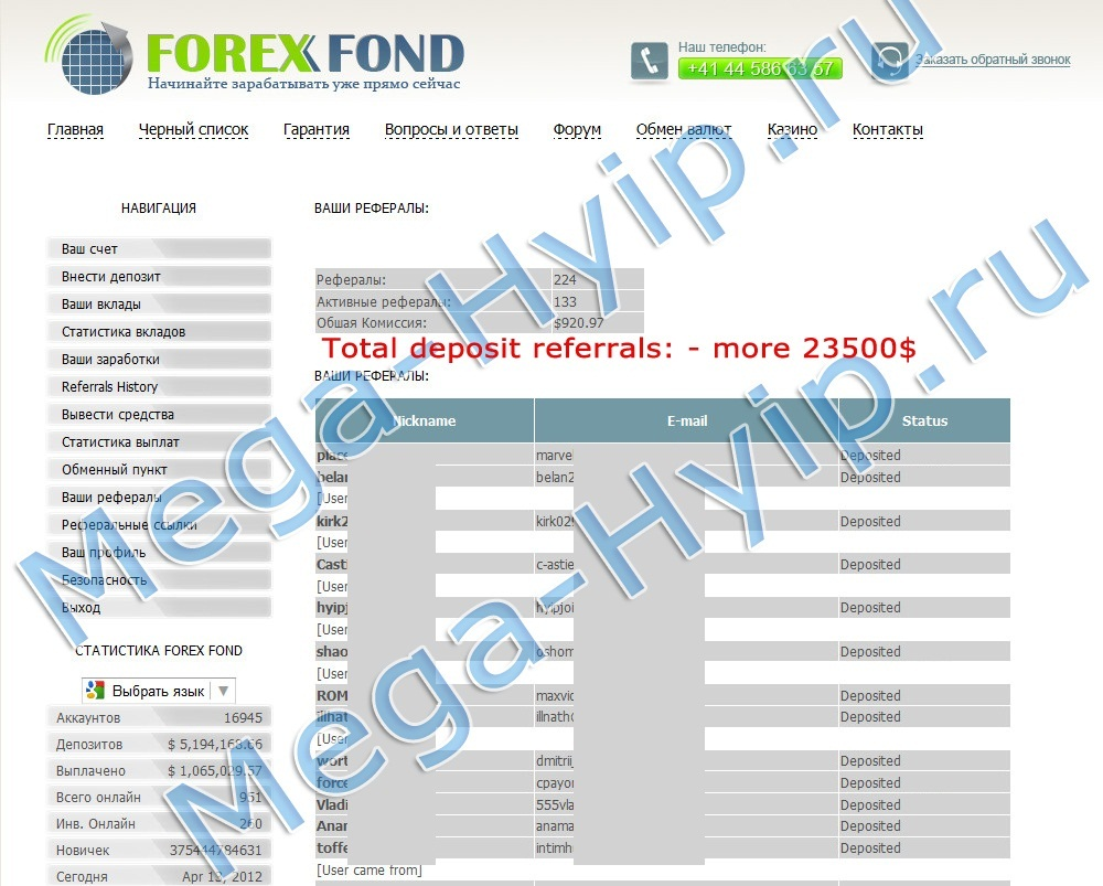 Grand forex hyip